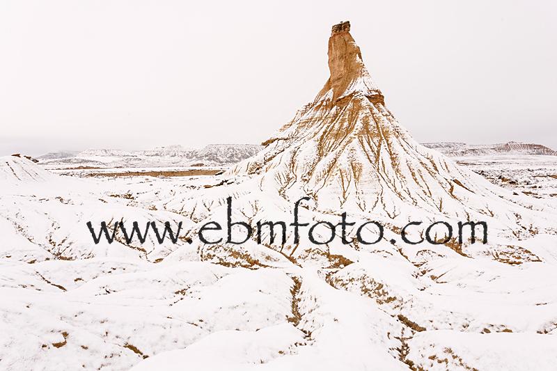 snow, landscape, navarra, spain