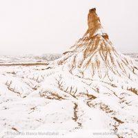 castildetierra-bardenas-invierno-nieve