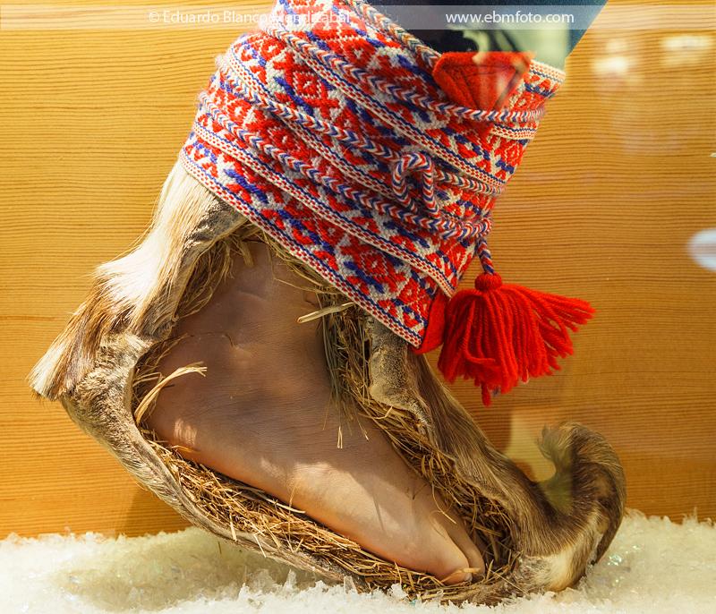 bota calcetin sami laponia
