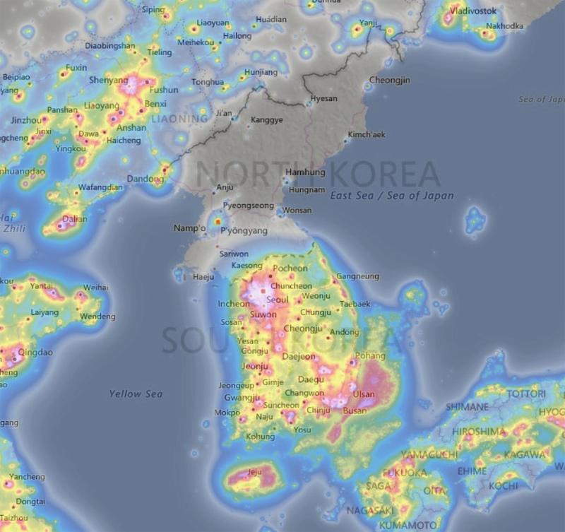 contaminacion-luminica-korea