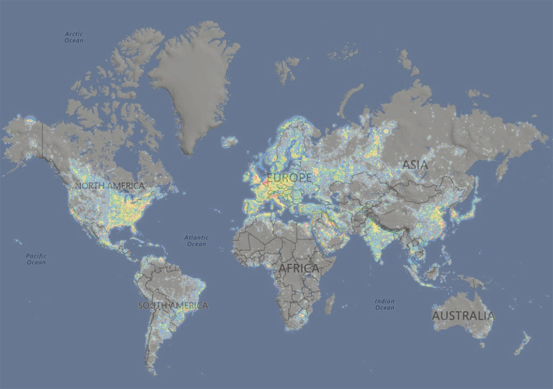 Contaminacion-luminica-mundial