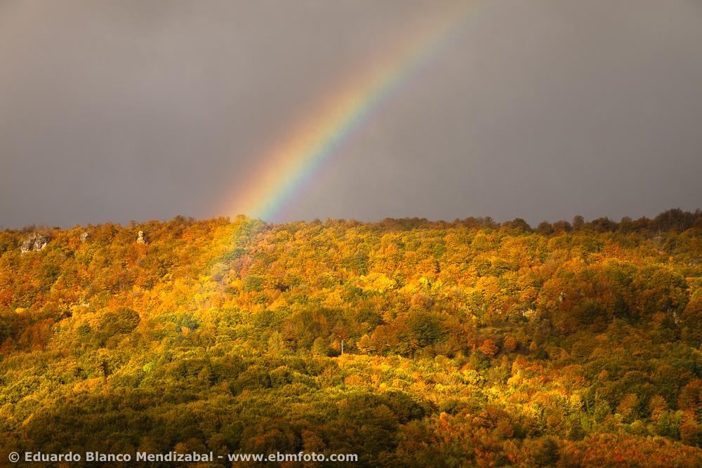 EBM-7037-Amazing, Country, Nature, Navarre, Rainbow, Spain, Travel, Urbasa-Andia