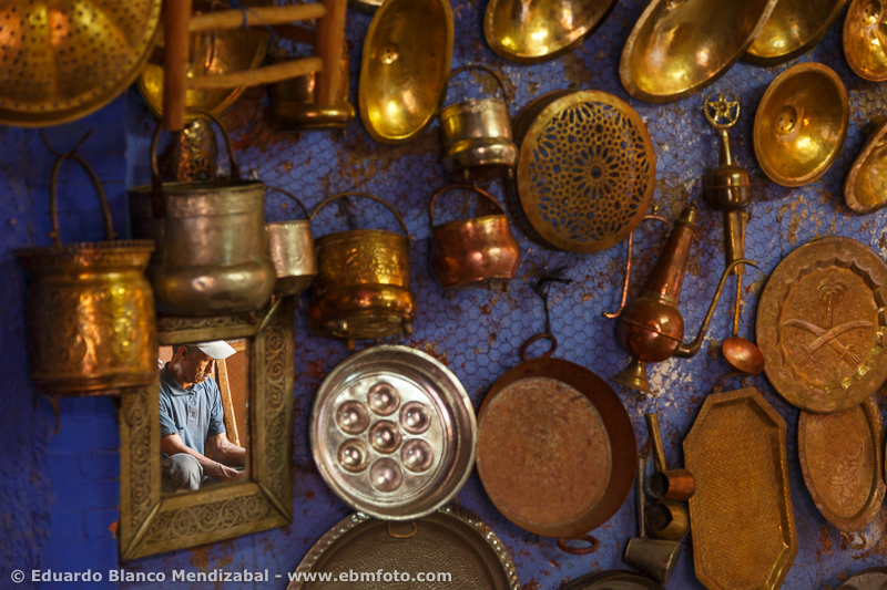 Boilermaker. Man working. Zouk. Marrakech. Morocco. North Africa. Africa
