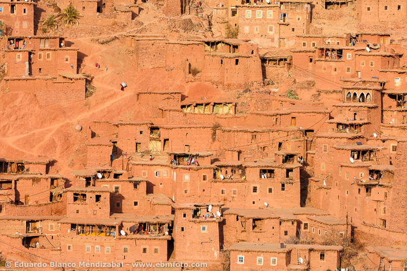 Tassaout valley. Morocco. North Africa.