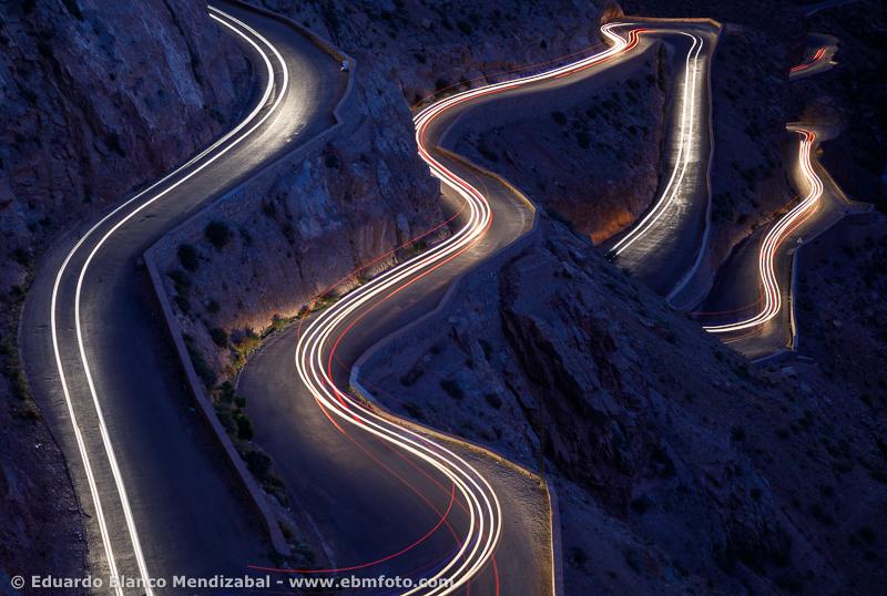 Dades Valley, Morocco, road